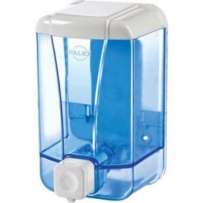 ПАЛЕКС - Диспенсър за течен сапун 500 мл. - прозрачно синьо (3420-1)