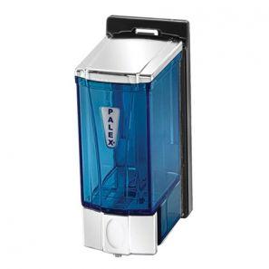 ПАЛЕКС - МИНИ диспенсър за течен сапун 250 мл. - прозрачно синьо (3562-1)