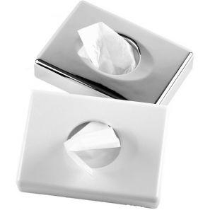 ПЛОК - Диспенсър за хигиенни пликчета - бял (88584)