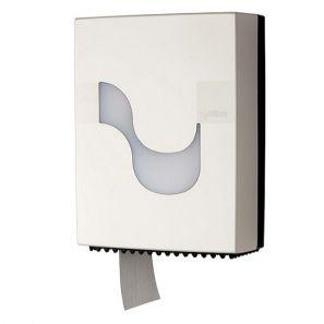 СЕЛТЕКС - Диспенсър за тоал. хартия МИНИ , бял - C92230