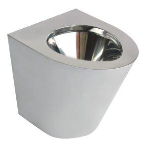 НОФЕР - Стояща тоалетна чиния от инокс (13012.В)