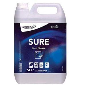 ДИВЪРС - SURE Почистващ препарат за стъкло 5 л. (100100891498)
