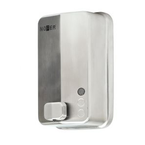 НОФЕР - Диспенсър за течен сапун Nofer.1200 мл., стомана ,сатен(03050.S)