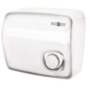 НОФЕР - Сешоар Каи с бутон, стомана, бял (01250.W)