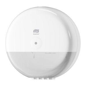 Торк - Диспенсър за тоал. хартия с централно изтегляне T8 - бял - Smart One (680000)