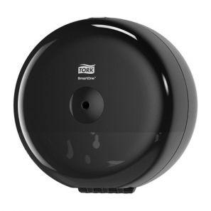 Торк - Диспенсър за тоал. хартия централно изтегляне T9 - черен - SmartOne Min (681008)