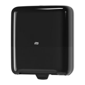Торк - Аутокът дозатор за кърпи за ръце H1 - черен - Matic Hard (551008)