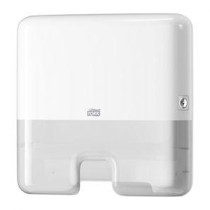 Торк - Диспенсър за кърпи за ръце Z -  H2 - бял - Multifold Mini Hand (552100)