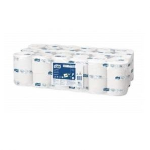 Торк - Тоал. хартия T7, целулоза, 1 пл. (36 рол./стек) Premium Coreless Mid-Size (472584-38)