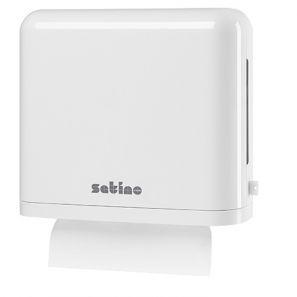 ВЕПА - Satino - Диспенсър за сгънати кърпи за ръце Z - БЯЛ (331030)