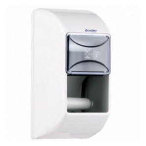 ЛУКАРТ - Двоен Диспенсър - за малка тоал. хартия - бял (892378)