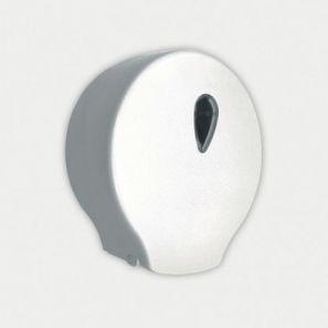 НОФЕР - Диспенсер за тоал.харт.джъмбо - NOFER ABS пластмаса, бял (05004.W)