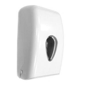 НОФЕР - Диспенсер за тоал.харт.пачка - NOFER Classic, ABS пластмаса, бял (05118.W)