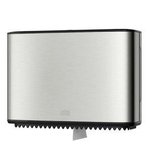 Торк - Диспенсър за тоал. хартия Mini Jumbo T2  (2 ролки) - инокс -  Toilet Roll (460006-38)