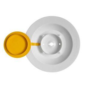 ТЕМКА - Кофа с жълт дозатор за мокри кърпички 4,6 л. - TEMDEX Spender-Eimer(4 бр./кашон) ( 067219-01)