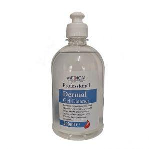 БЕСТ - Дерма гел клинер - 500 мл.(ПУШ - ПУЛ) - ТЕЧЕН дезинфектант за ръце (316168)
