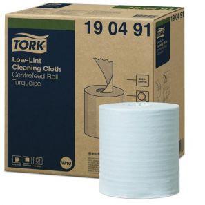 Торк - Индустриална кърпа W10 - Low Lint Cleaning, (200 кърпи/рол)(4 ролки/кашон)(190491-38)