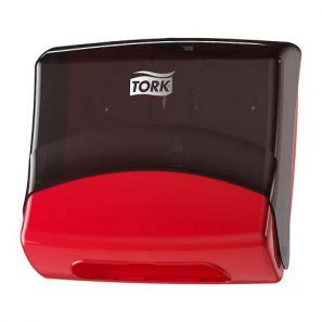 Торк - Диспенсър за кърпи за ръце W4 - матово/червен (654008-38)