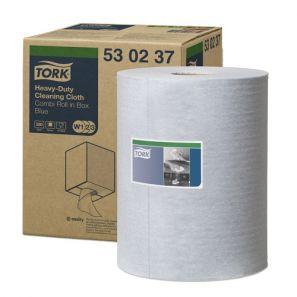 Торк - Индустрилана ролка W1 / W2 / W3, нетъкан текстил,синя (530237-38)