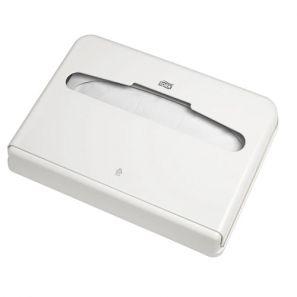 Торк - Диспенсър за покривала за тоалетна чиния V1 - бял (344080-38)