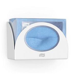Торк - Диспенсър за почистващи кърпи W4 - бял - (655100-38)