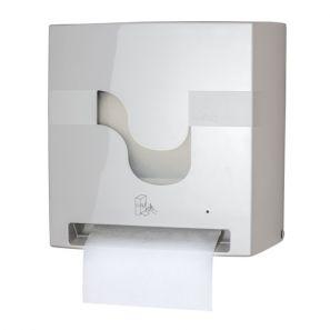 СЕЛТЕКС - Диспенсър за харт. кърпи на руло аутокът - сензорен - БЯЛ  (C95420)