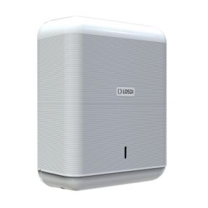 ЛОСДИ - Диспенсър за сг. кърпи - бял ABS 600 ECO LUXE (CP3009B-L)