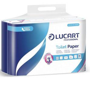 ЛУКАРТ - Тоал. хартия Strong 3.24, 3 пл., 100 % целулоза, (24 бр./стек) (811C78)