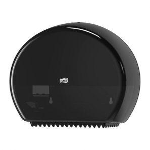 Торк - Диспенсър за тоал. хартия на ролки Мини Джъмбо - Т2 - черен (555008-38)