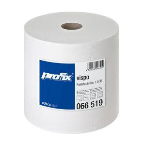 ТЕМКА - Полираща ролка - Profix vispo,28х36 см, 500 къса,вискоза - бяла (066519-01)