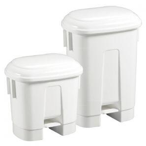 ФИЛМОП - Пластмасова бял кош 30 л. с жълт капак(C03033D)