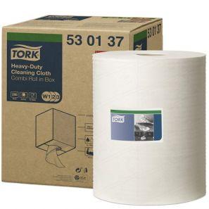 Торк - индустриална ролка W1,W2,W3 – бяла, 1пл., 280 листа (530137)
