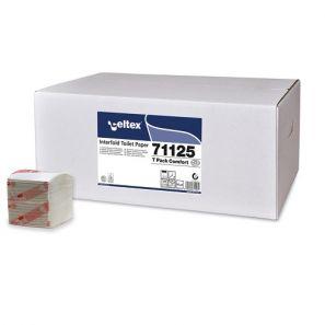СЕЛТЕКС - Тоал. хартия на пачка, целулоза (225x40) C71125 ( IT )